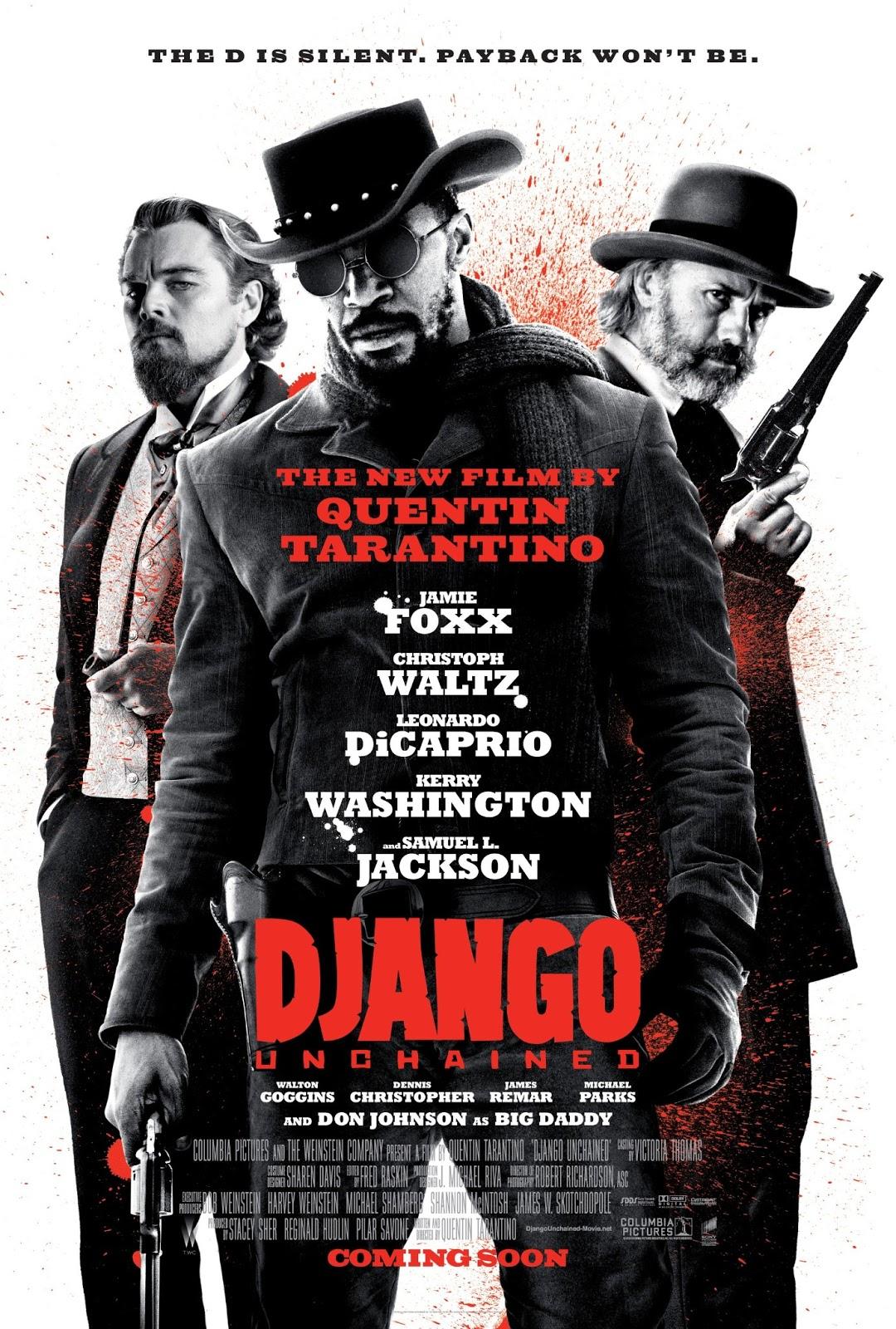 Django Unchained Poster Artwork