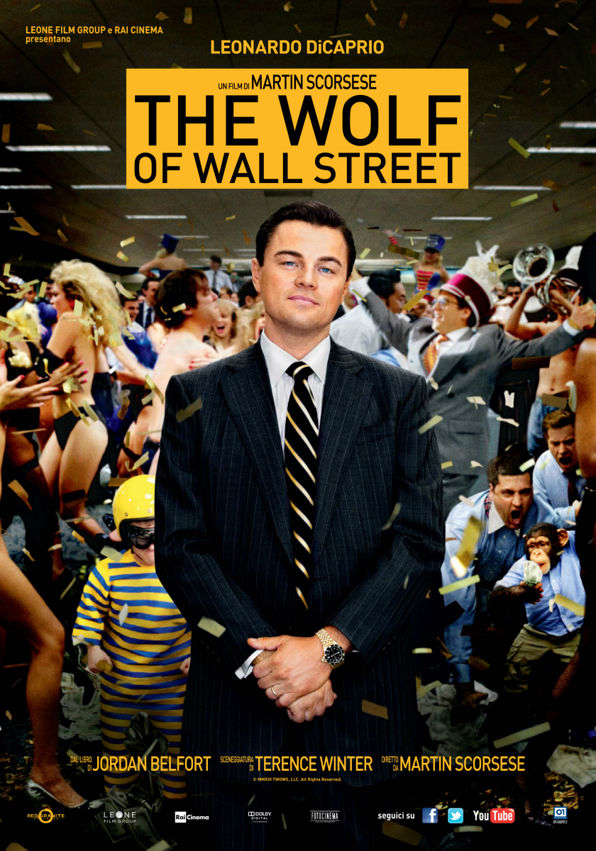 The Wolf of Wall Street_poster