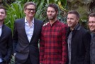 "Colin Firth, Taron Egerton e i Take That a Roma per ""Kingsman –Secret Service"""