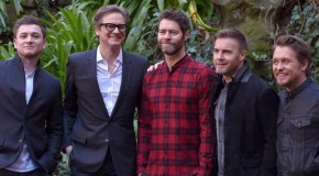 "Colin Firth, Taron Egerton e i Take That a Roma per ""Kingsman –Secret Service"""