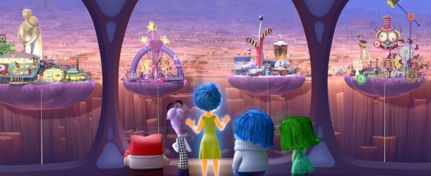 Inside Out (2015), di Pete Docter e Ronnie Del Carmen